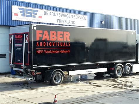 The City The The Trailer by Krone Kasten City Trailer Voor Faber Audiovisuals Bsf Trucks