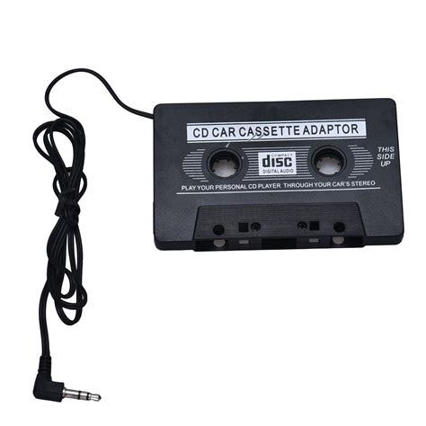 mini cassette car audio tape cassette adapter 3 5mm jack for cd player