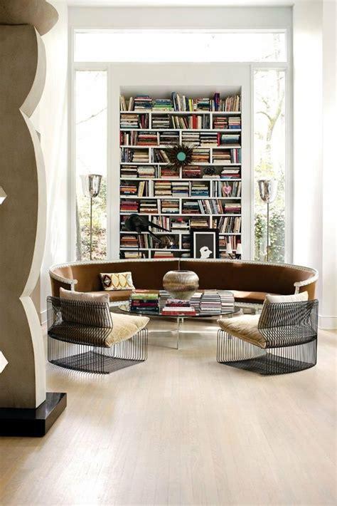 Vorschläge Wohnzimmereinrichtung by Rundes Sofa Im Wohnbereich 43 Ideen F 252 R Bequeme Und