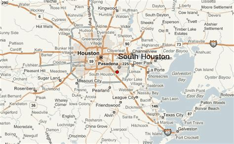 map de texas south houston location guide