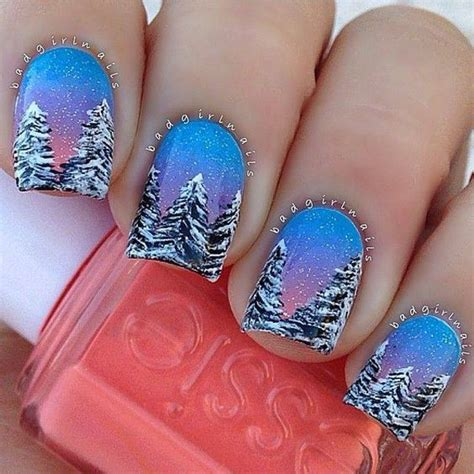 Winter Nail Designs Pictures