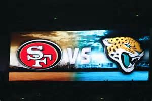 Jaguars Vs 49ers Nfl Weekend Jacksonville Jaguars Vs San Francisco 49ers