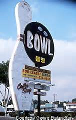Garden Grove Bowling Roadside Peek Ten Pin Alleys Southern California 1