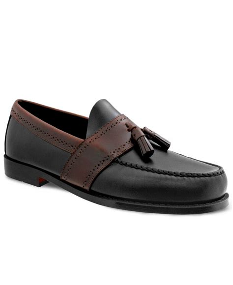 loafers with tassel lyst g h bass co colbert tassel loafers in black for