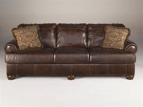 ashley furniture leather sofa ashley signature design living room sofa 4200038 winner