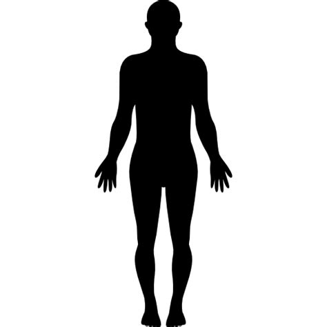 standing human body silhouette  vector icons designed
