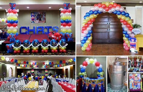 Superman Decorations by Superman Cebu Balloons And Supplies