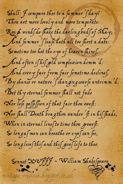 shakespeare sonnet quotes quotesgram