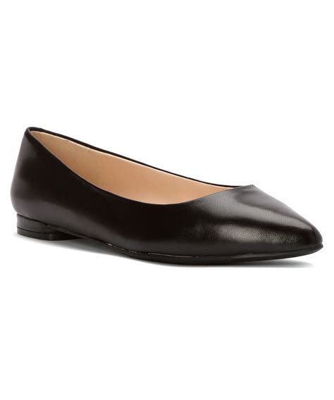 nine west flat shoes nine west s onlee flats shoes in black lyst