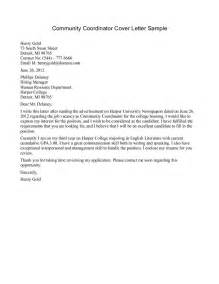 Small Business Banker Cover Letter by Sle Community Service Letter 7 Free Documents In Regarding Community Service