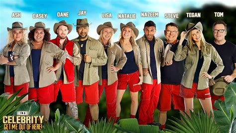 celebrity jungle final 2017 time who s heading into the jungle in 2017 s i m a celebrity