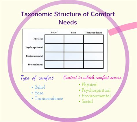 comfort theory of nursing comfort as a concept kolcaba s comfort theory