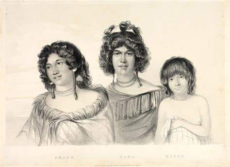 hairstyles new ealand women s hairstyles around 1827 māori clothing and