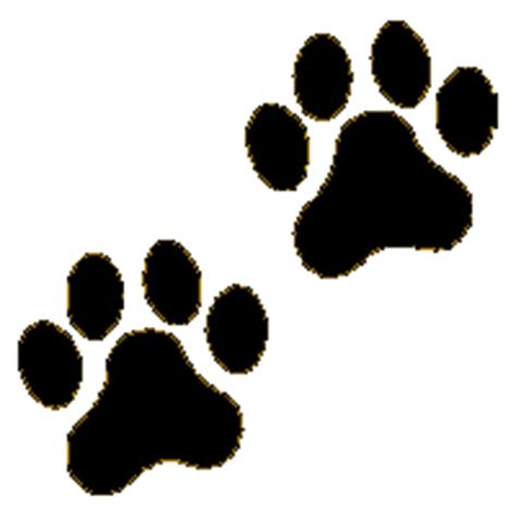 Dog Paw Print Clip Art Many Interesting Cliparts