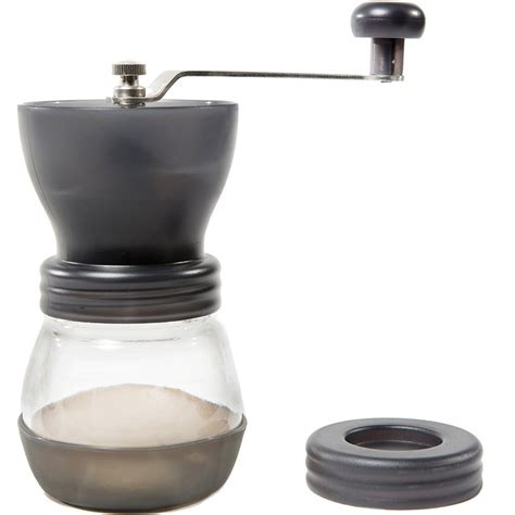 Quiet Coffee Grinder Manual Ceramic Burr Coffee Grinder Hand Crank Coffee Mill