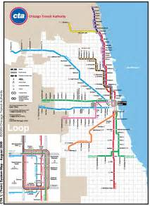 Chicago Metro Map by Chicago Metro Map Subway Mapsof Net
