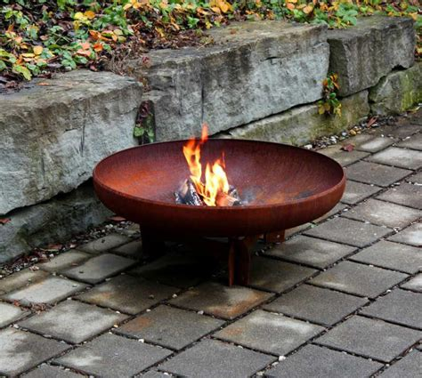 yagoona yabbi 80cm outdoor steel pit yagoona design - Feuerschale Outdoor