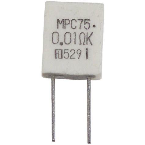Resistor Fukushima Futaba 0 1 Ohm Mpc71 Non Inductive metal resistor 0 05 ω radial lead mpc75 5 w 10