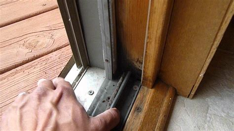 Patio Door Sill by Rotten Patio Door Sill Rosemount Mn
