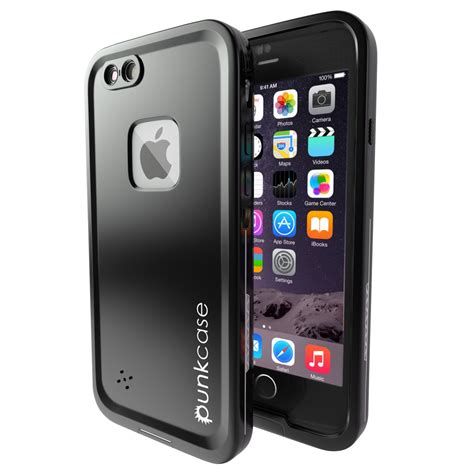iphone  waterproof case ghostek atomic  silver