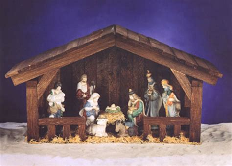 christmas diy how to play away in a manger