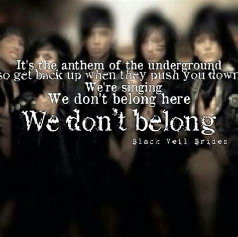 black veil brides in the mirror lyric 25 best ideas about black veil on black veil