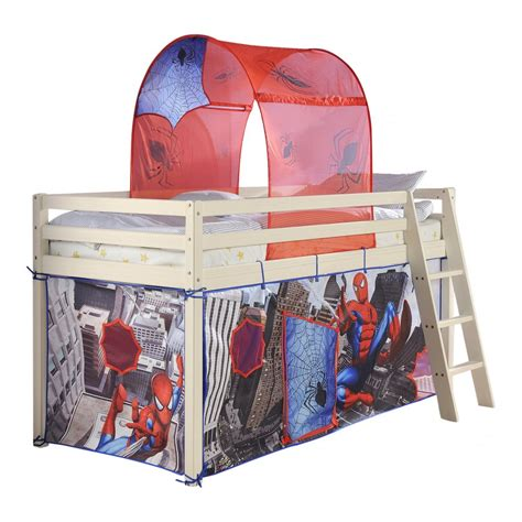 spiderman bed tent cabin bed midsleeper