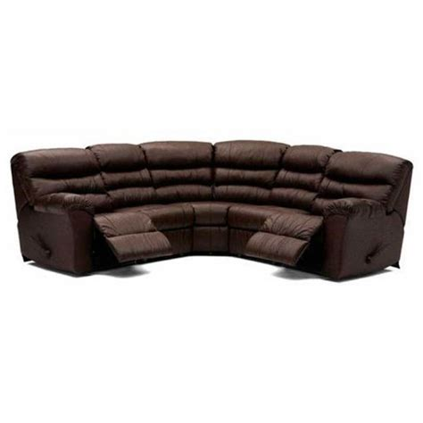 reclining sectional with sleeper palliser durant leather reclining sectional with sleeper