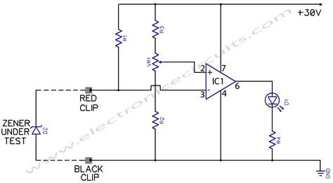 diode circuit test diagram zener test diode tester circuit schematic get free image about wiring diagram
