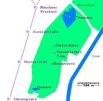 Plan Englischer Garten München Nordteil by Rundgang Durch Den Englischen Garten In M 252 Nchen