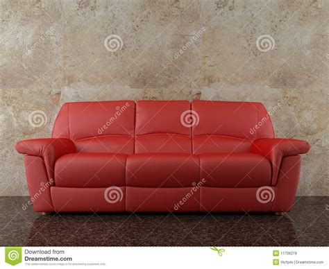 face couch couch to face a blank wall royalty free stock photos