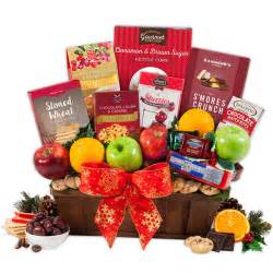 christmas fruit basket by gourmetgiftbaskets com