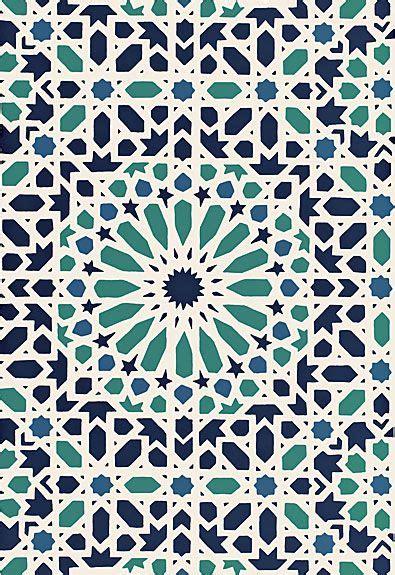 moroccan wallpaper pinterest schumacher nasrid palace mosaic wallpaper aegean
