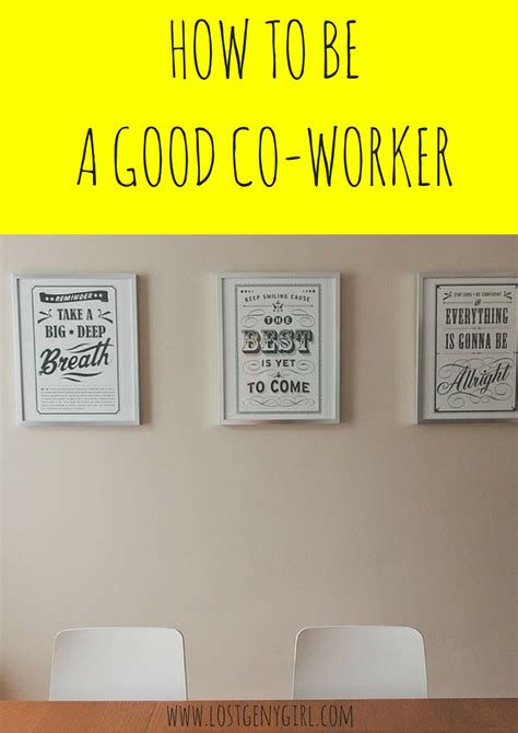 homelife 11 things people with spotless houses do every day how to be a good co worker gen y girl