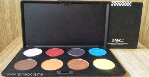 Eyeshadow Orange Lokal pac eyeshadow pearly palette review swatches photos