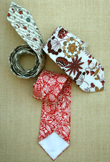 Handmade Neckties - 15 ideas to make valentine s day gifts for him pretty