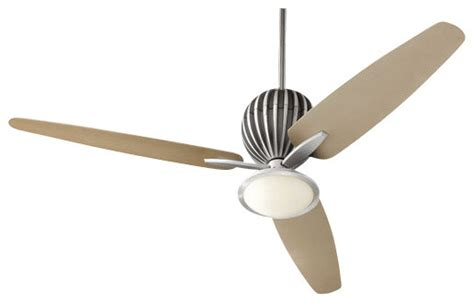 mid century ceiling fan quorum international 30603 alumina 60 quot 3 blade indoor