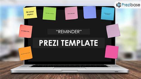 Unique Office Desk Reminder Prezi Template Prezibase