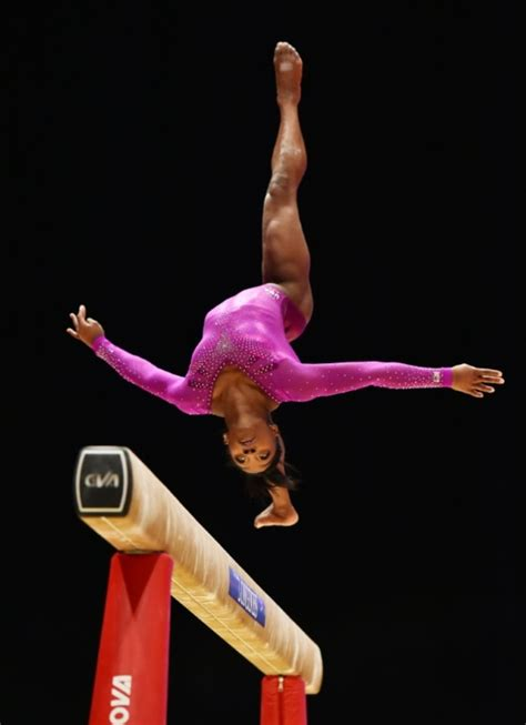 perfect layout gymnastics simone biles wins record tenth world women s crown daily