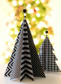 tree craft decorations 45 wonderful paper and cardboard diy decorations