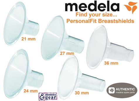 what size breast shield comes with medela swing medela personalfit breastshields