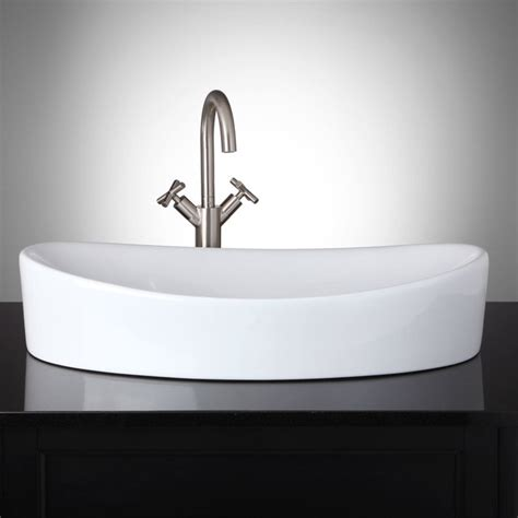 modern bathroom vessel sinks oval vessel sink modern bathroom sinks by