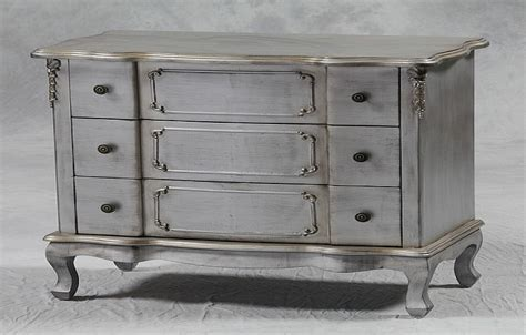 shabby chic silver leaf 3 drawer chest furniture chic furniture houston shabby chic furniture