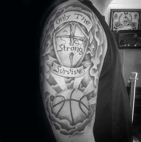only the strong survive tattoo designs 40 only the strong survive tattoos for motto design