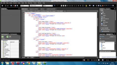 membuat coding web mari membuat desain dan membangun coding web menggunakan
