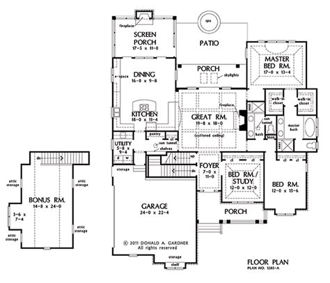 donald a gardner floor plans the marley house plan images see photos of don gardner house plans 4385 1285base f
