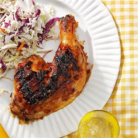 stacey s famous bbq chicken recipe taste of home