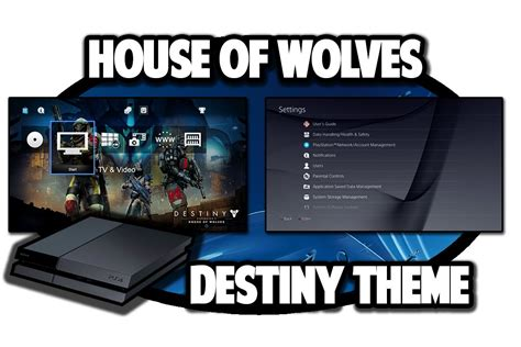 ps4 themes buy ps4 themes destiny expansion 2 house of wolves theme in