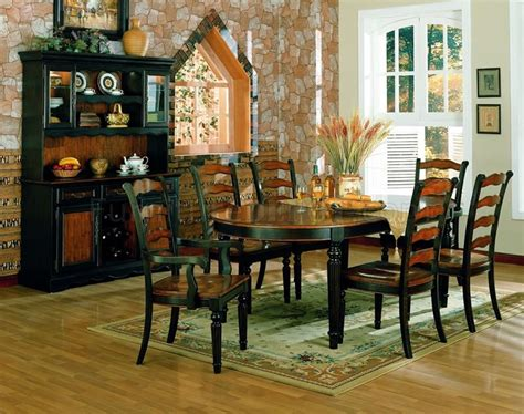 two toned dining room sets two toned dining room furniture w choice of or oval