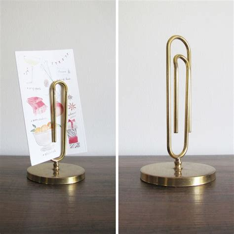 oversized clip paper holder desktop pinterest